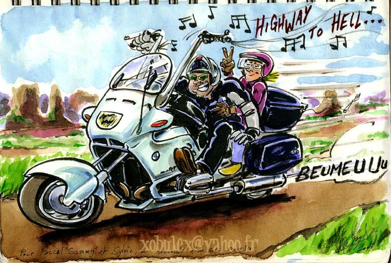 Motard dessin humour - Dessin humour moto ...